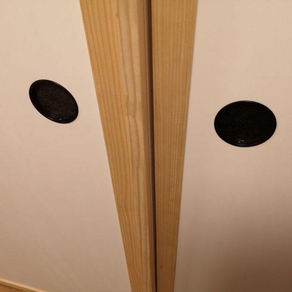 Vgradna omara s Fusuma vrati