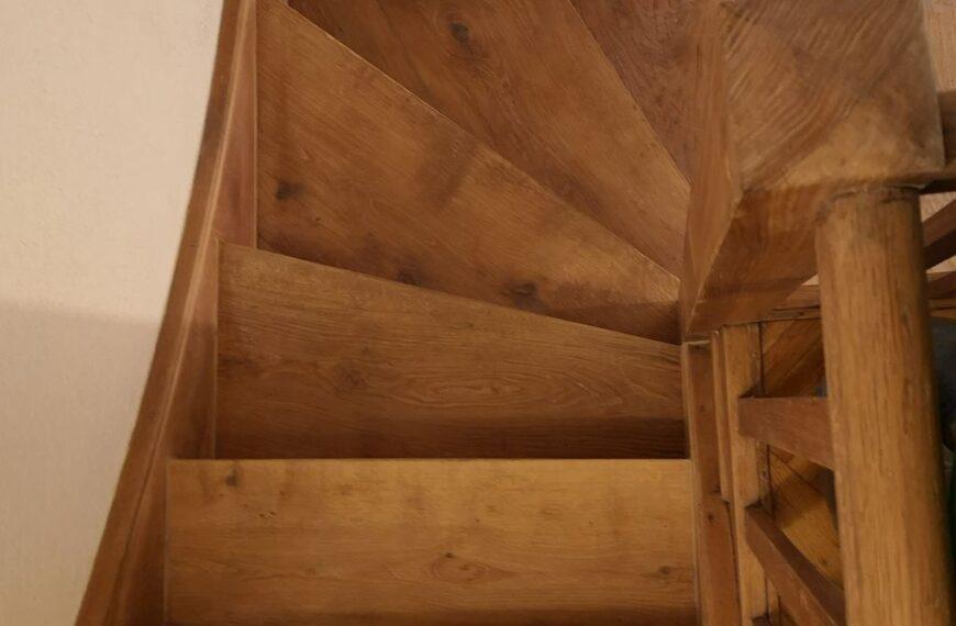 Obnova škripajočih stopnic
